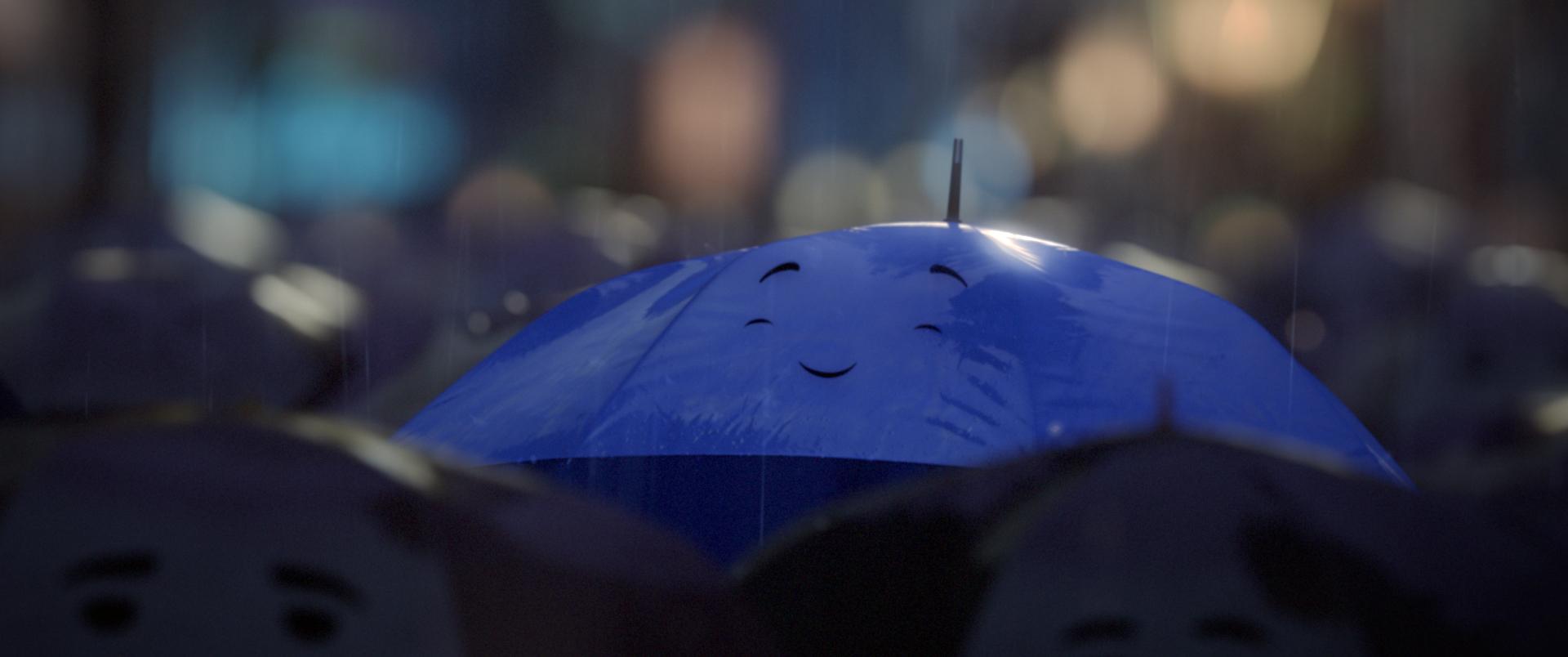 Pixar disney le parapluie bleu the blue umbrella