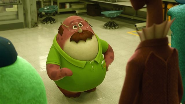 don carlton personnage character monstres monsters academy university disney pixar