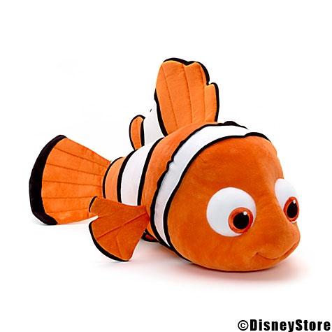 """Les peluches de """"Le Monde de Nemo""""."""