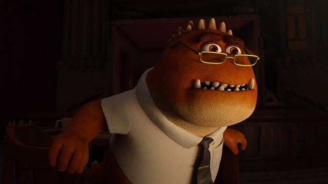 derek knight personnage character monstres academy monsters university disney pixar