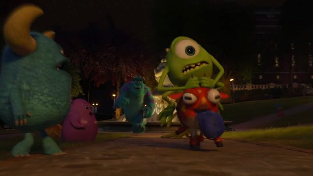 archie personnage character monstres monsters academy university disney pixar