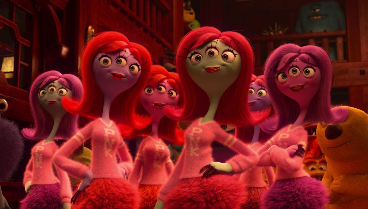 britney davis personnage character monstres monsters academy university disney pixar