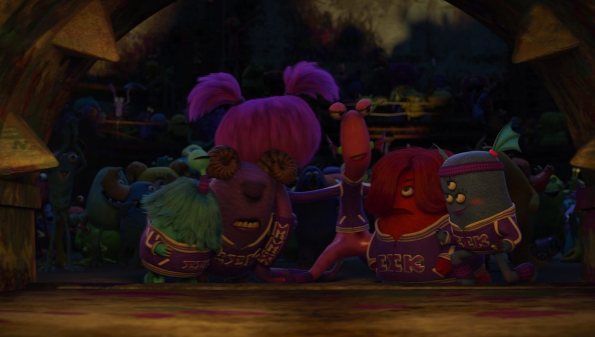 carla delgado personnage character monstres monsters academy university disney pixar
