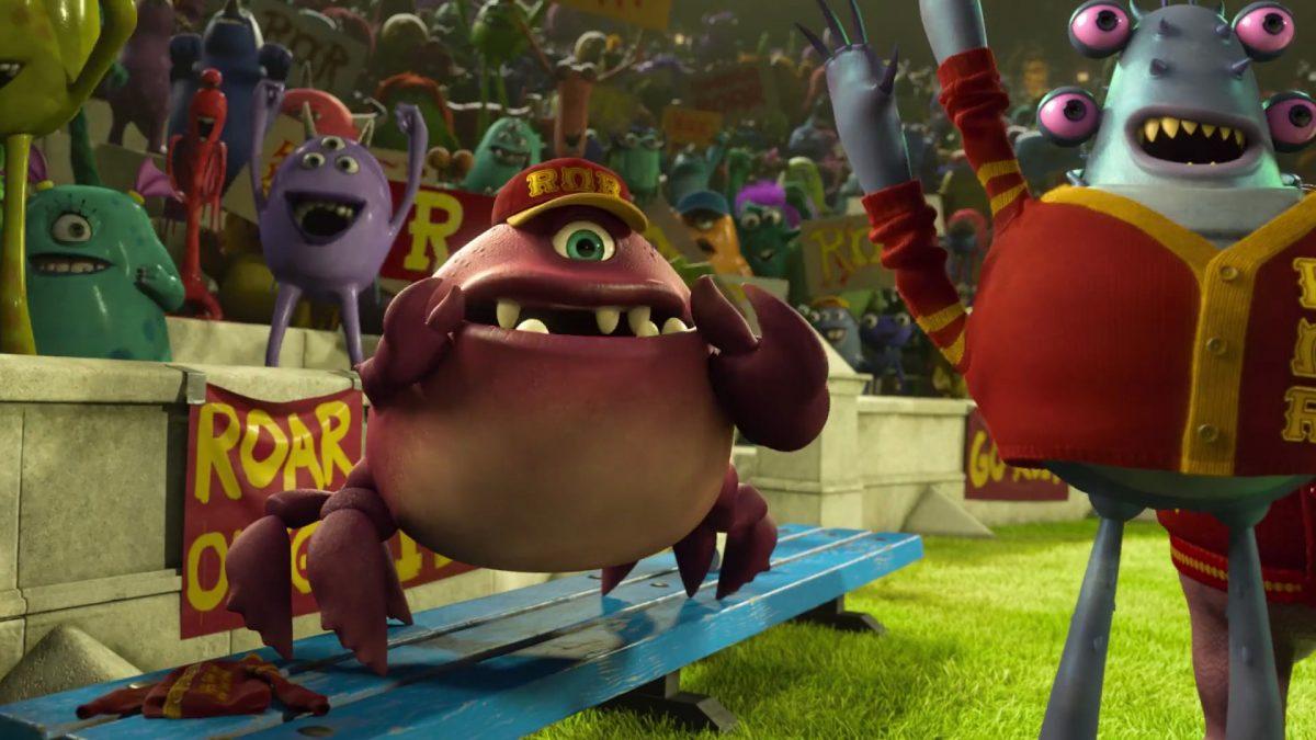 chet alexander personnage character monstres monsters academy university disney pixar