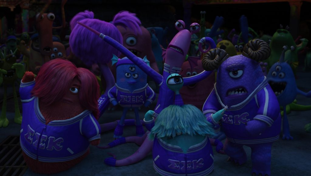 debbie gabler pixar disney personnage character monstres academy monsters university