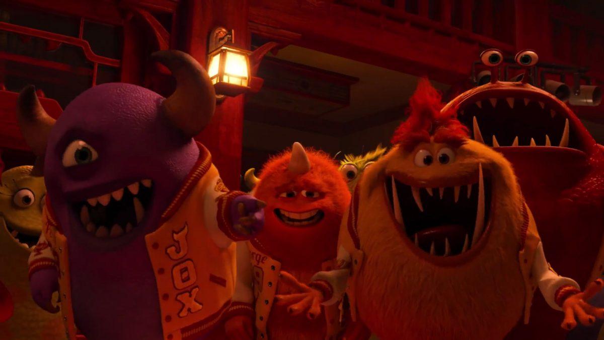 dirk pratt personnage character monstres monsters academy university disney pixar