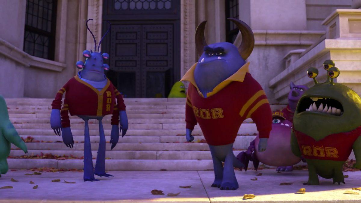 javier rios personnage character monstres monsters academy university disney pixar