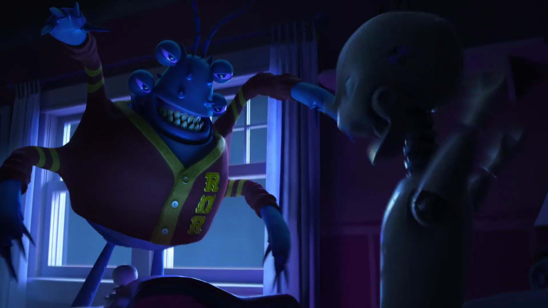 javier rios personnage character monstres academy monsters university