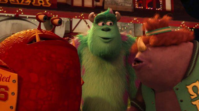 roy big red ogrowlahan personnage character monstres academy monsters university disney pixar