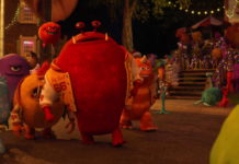 roy big red growlahan pixar disney personnage character monstres academy monsters university