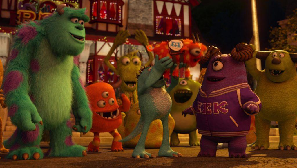 violet steslicki  pixar disney personnage character monstres academy monsters university