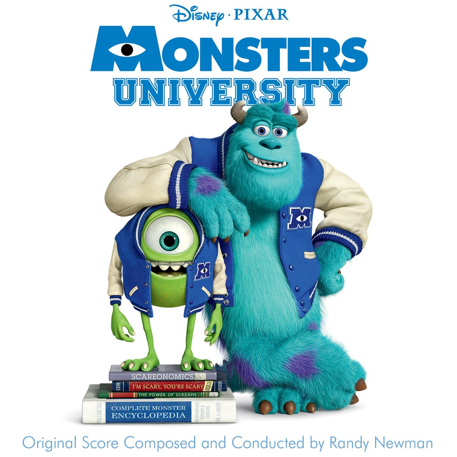 Pixar disney bande originale soundtrack  monstres academy monsters university