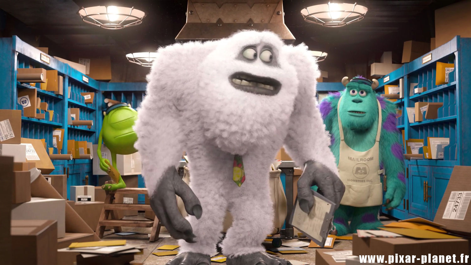 pixar disney monstres academy clin oeil easter egg monsters university