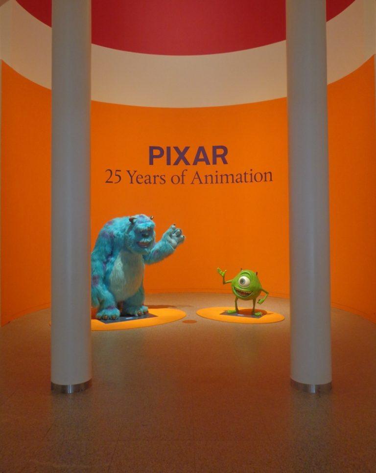 """L'exposition """"25 ans d'animation Pixar"""" sera à Paris !"""