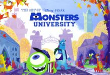 art of monsters university Livre Disney Pixar Book
