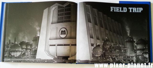 art of monsters university Livre Disney Pixar Book