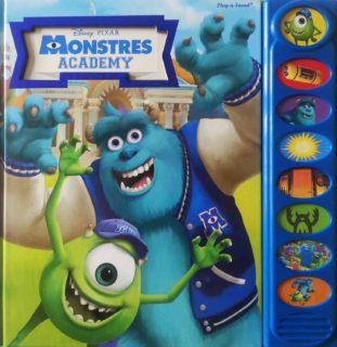musical monstres academy Livre Disney Pixar Book