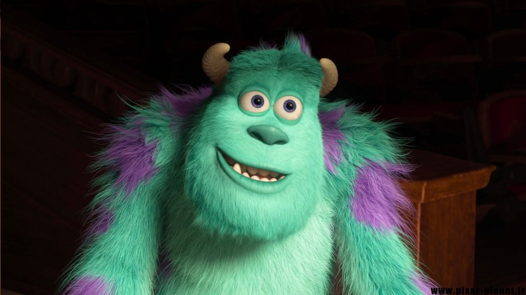 Pixar Disney monstres academy monsters university