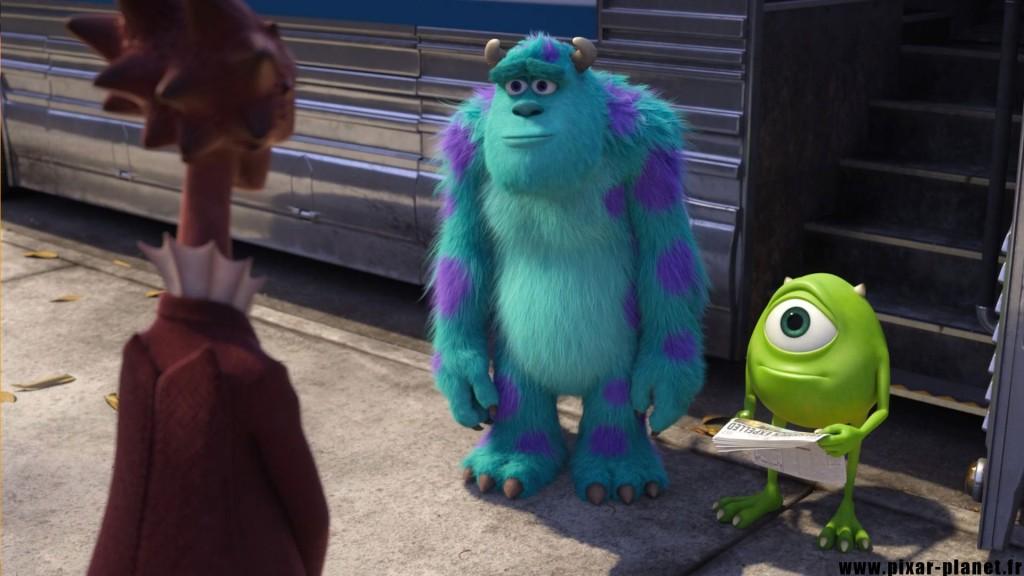 Pixar Disney monstres academy monsters university