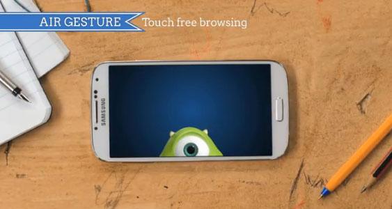 """Une publicité Samsung avec """"Monstres Academy""""."""