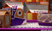 Toy Story Toons Clin Oeil Easter Egg Disney Pixar Mini buzz small fry