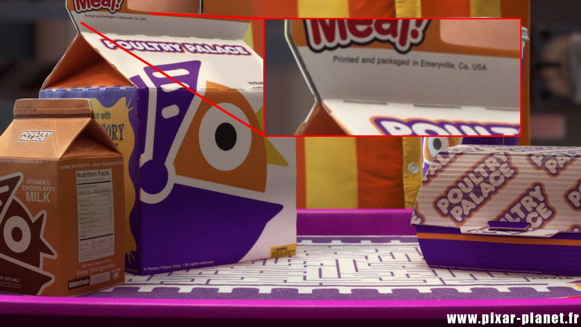 Toy Story Toons Clin Oeil Easter Egg Disney Pixar Mini buzz small fry