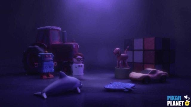 Toy Story Toons Clin Oeil Easter Egg Disney Pixar Rex roi fête partysaurus