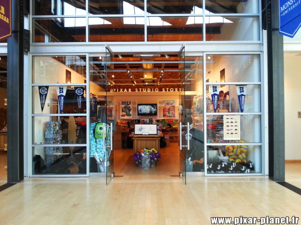 store steve jobs building studio pixar animation san francisco emeryville disney visite