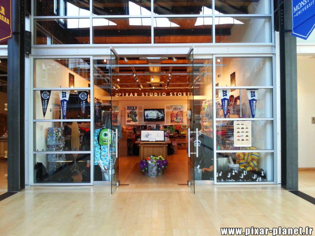 store steve jobs building studio pixar animation san francisco emeryville disney visite