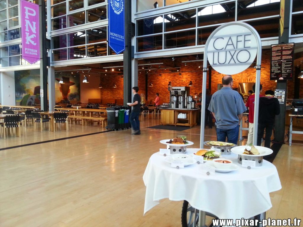 cafe luxo steve jobs building studio pixar animation san francisco emeryville disney visite