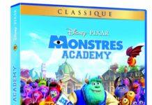 dvd monstres academy jaquette disney pixar
