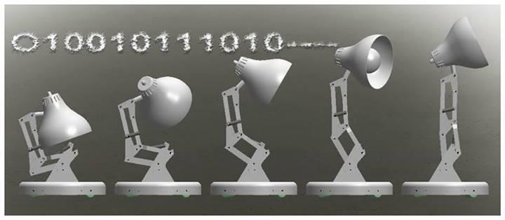 Projet de fans : le robot Luxo.
