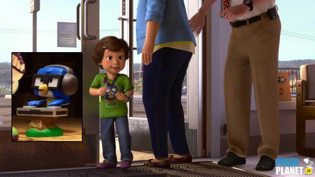 Toy Story Angoisse Motel Terror Clin Oeil Easter egg disney pixar