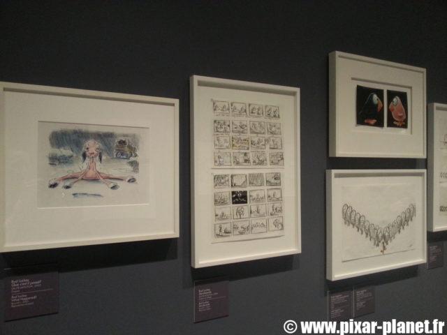 Exposition 25 ans Pixar Art ludique Disney