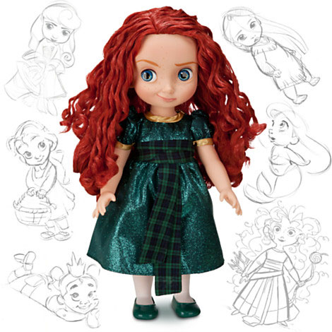Pixar Disney Store Merida Brave Rebelle Animators