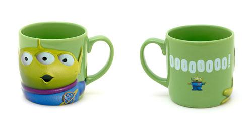 Pixar Disney Store Mug Alien