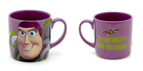 Pixar Disney Store Mug Buzz