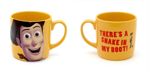 Pixar Disney Store Mug Woody