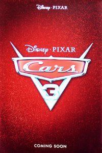 pixar disney cars 3 affiche poster