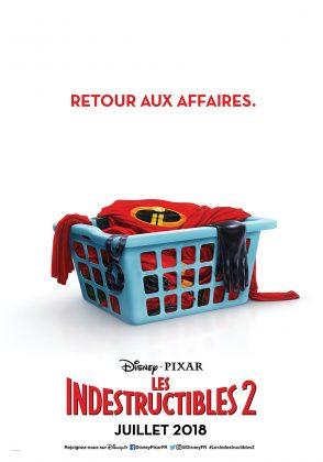 Affiche Poster Les Indestructibles Incredibles 2 Disney Pixar