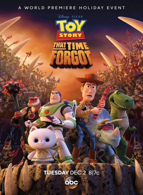 affiche poster toy story hors temps time forgot disney pixar