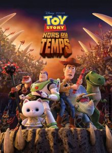 pixar disney toy story hors du temps that time forgot affiche poster