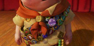 Pixar Disney badge Ellie Russell Là-haut Up