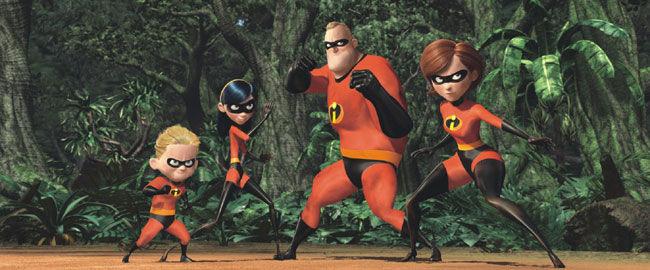 Pixar Disney les Indestructibles