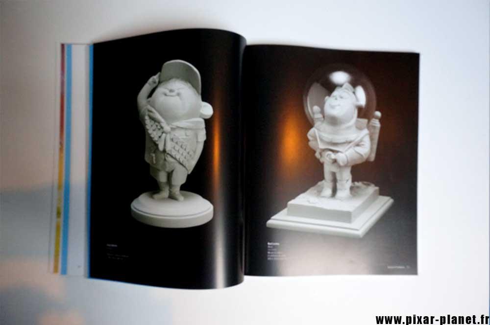 Pixar Disney Livre Exposition Pixar Animation
