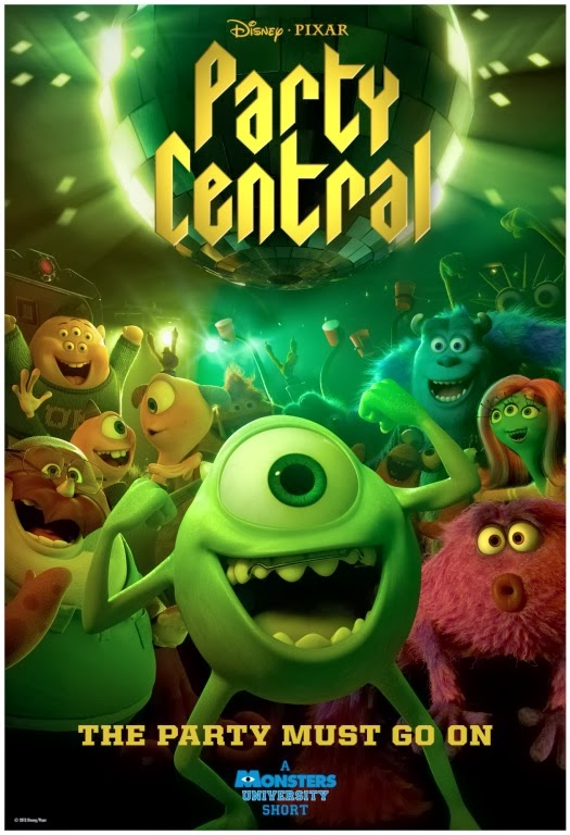 Pixar Disney party Central affiche poster
