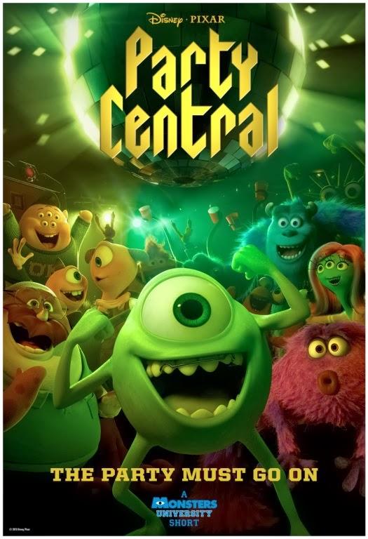 Pixar Disney party Central affiche poster
