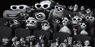 Pixar Disney 3D