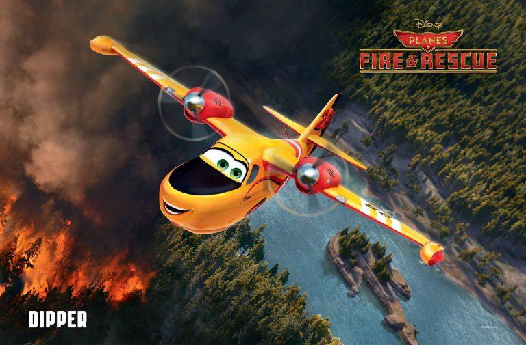 """Lil' Dipper, personnage dans """"Planes : Mission Canadair""""."""