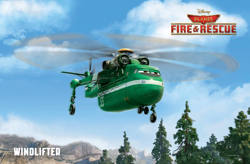 Pixar Disney Planes mission canadair windlifter